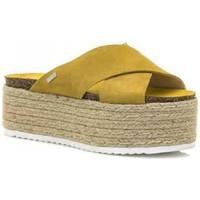 Zapatos Mujer Alpargatas MTNG 51092 Amarillo
