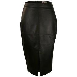 textil Mujer Faldas Zerimar BECOMING Negro