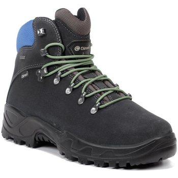 Zapatos Hombre Senderismo Chiruca Botas  Xacobeo 23 Gore-Tex Gris