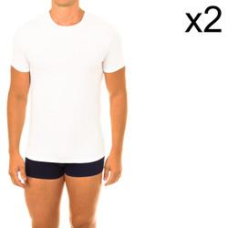 textil Hombre Camisetas manga corta DIM Pack- 2 camisetas ecoDIM Blanco