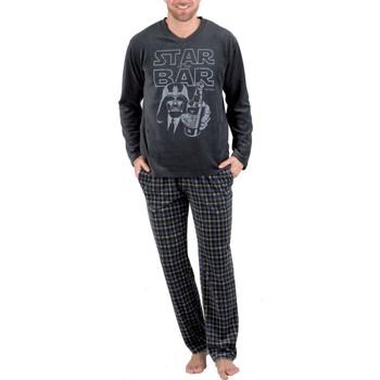 textil Hombre Pijama Pettrus Pijama  859 Black