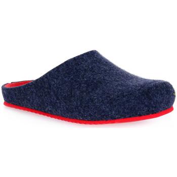 Zapatos Mujer Pantuflas Grunland BLU EURO Blu