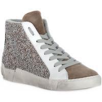 Zapatos Mujer Zapatillas altas At Go GO CALIFORNIA TORTORA Beige