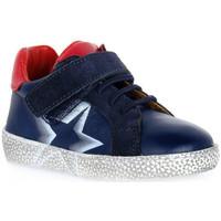 Zapatos Niño Botas de caña baja Grunland BLU NOON Blu