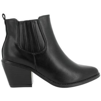 Zapatos Mujer Botines Blogger BO-14420 Negro