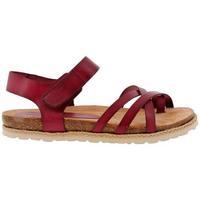Zapatos Mujer Sandalias Yokono CHIPRE-149 Burdeos