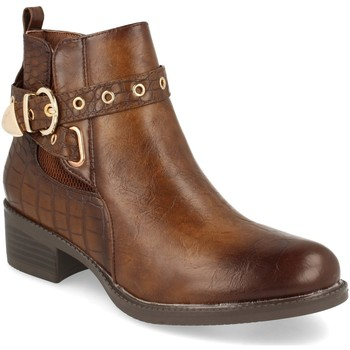 Zapatos Mujer Botines H&d YZ19-218 Marron
