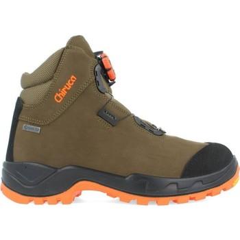 Zapatos Hombre Senderismo Chiruca Botas  Alano Force Boa Hi Vis 08 Gore-Tex Verde
