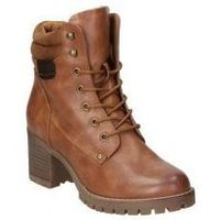 Zapatos Mujer Botines Deity BOTINES  YQB16501 MODA JOVEN CUERO Marron
