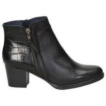 Zapatos Mujer Botines Dorking BOTINES  D8296 SEÑORA NEGRO Noir
