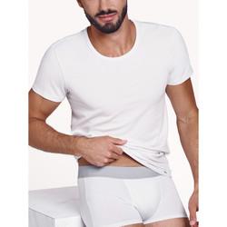 textil Hombre Camisetas manga corta Lisca Camiseta manga corta para hombre Hércules Blanco