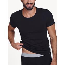 textil Hombre Camisetas manga corta Lisca Camiseta de manga corta para hombre Hércules Pearl Black