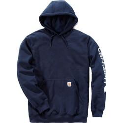 textil Sudaderas Carhartt Sweatshirt à capuche  Logo bleu marine