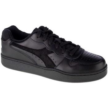 Zapatos Hombre Zapatillas bajas Diadora MI Basket Low Negros