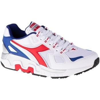 Zapatos Hombre Zapatillas bajas Diadora Mythos Blanco, Rojos