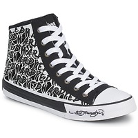 Zapatos Mujer Zapatillas altas Ed Hardy RESOUDRE Negro / Blanco