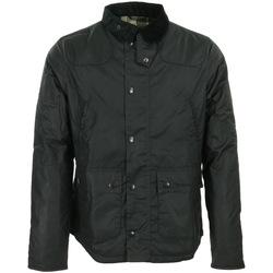 textil Hombre cazadoras Barbour Reelin Wax Jacket Negro