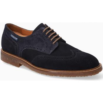 Zapatos Hombre Derbie Mephisto PIERS Azul