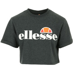 textil Mujer Camisetas manga corta Ellesse Alberta Crop T-Shirt Gris