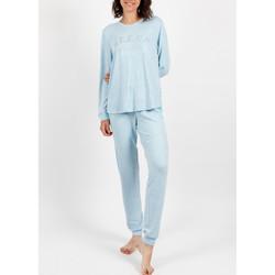 textil Mujer Pijama Admas Pantalones de pijama para el hogar  sueño Azul