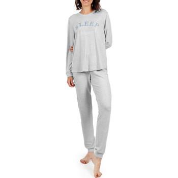 textil Mujer Pijama Admas Pantalones de pijama para el hogar  sueño Gris Claro