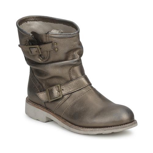 Zapatos Mujer Botas de caña baja Bikkembergs VINTAGE 502 Gris