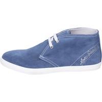 Zapatos Niña Botines Nero Giardini Botines Gamuza Azul