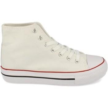 Zapatos Mujer Zapatillas altas Woman Key CZ-771 Blanco