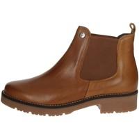 Zapatos Mujer Botas de caña baja Pitillos 6432 Marrón cuero