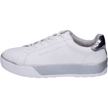 Zapatos Niña Deportivas Moda Silvian Heach Sneakers Cuero sintético Blanco