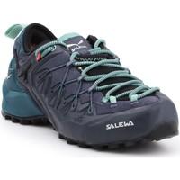 Zapatos Mujer Senderismo Salewa WS Wildfire Edge GTX 61376-3838 negro, green, azul marino