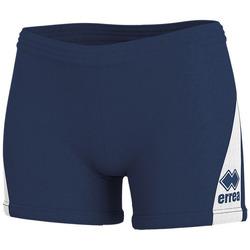 textil Mujer Shorts / Bermudas Errea Short femme  kiara marine/blanc