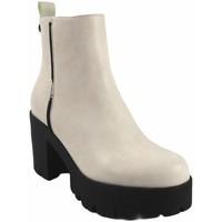Zapatos Mujer Botas de caña baja D'angela Botín señora  18203 dcz blanco Blanco