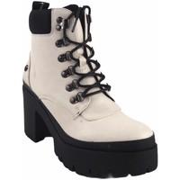 Zapatos Mujer Botas de caña baja D'angela Botín señora  18204 dcz blanco Blanco