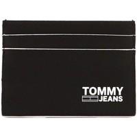 Bolsos Hombre Cartera Tommy Jeans TJM CC HOLDER Negro