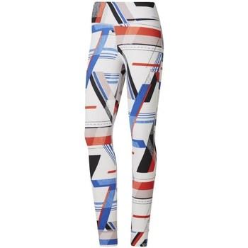 textil Mujer Leggings Reebok Sport One Series Lux Bold Blanco, Rojos, Azul