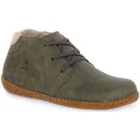 Zapatos Hombre Botas de caña baja Bioline FUMO YUMA Grigio