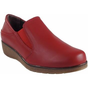 Zapatos Mujer Zapatos náuticos Bellatrix Zapato señora  7560 rojo Rojo