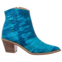 Zapatos Mujer Botines Sommits 8070 Azul