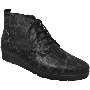 Zapatos Mujer Botines Mobils By Mephisto Naomie Cuero negro/gris