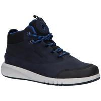 Zapatos Niño Botas de caña baja Geox J04CYA 0CL11 J AER Azul