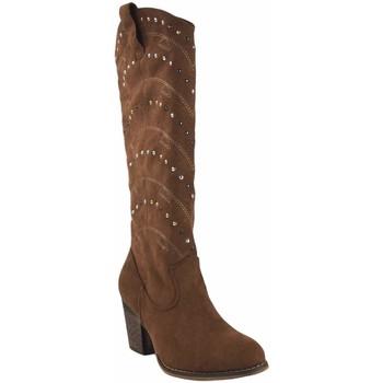 Zapatos Mujer Multideporte Olivina Bota señora BEBY 19040 cuero Marrón