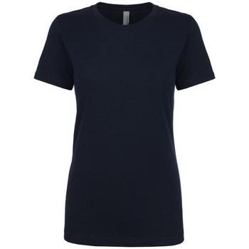 textil Mujer Camisetas manga corta Next Level NX3900 Azul Marino Medianoche