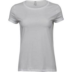 textil Mujer Camisetas manga corta Tee Jays T5063 Blanco