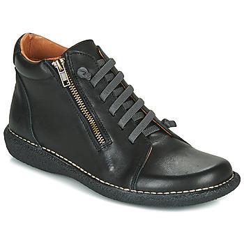 Zapatos Mujer Botas de caña baja Casual Attitude NELIO Negro