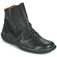 Zapatos Mujer Botas de caña baja Casual Attitude NELIOO Negro