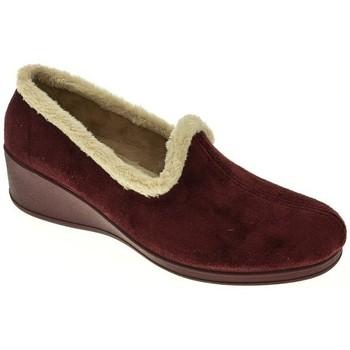 Zapatos Mujer Pantuflas Pinturines ZAPATILLAS SEÑORA  BURDEOS Violeta