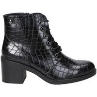 Zapatos Mujer Botines D'angela BOTINES  DHO18088 MODA JOVEN NEGRO Noir