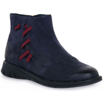 Zapatos Mujer Zuecos (Mules) Grunland 88IDAL POLACCO BLU Blu