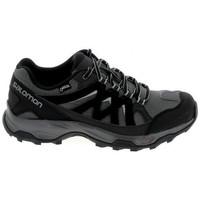 Zapatos Senderismo Salomon Effect GTX Noir Gris Negro